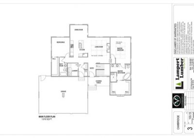 Cambridge Home Floor Plan