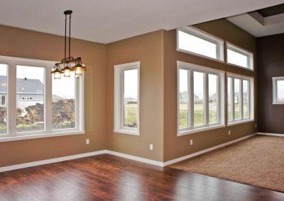 Custom Home Living Room