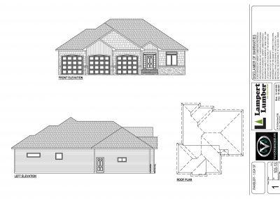 Delano Custom Home Floor Plan