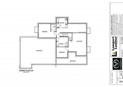 Custom Home Floor Plan
