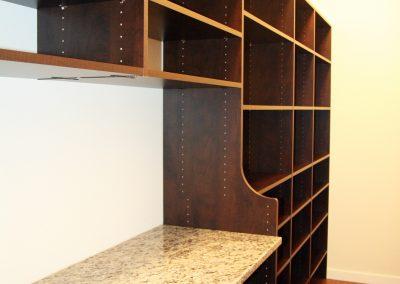 Custom Home Storage Area