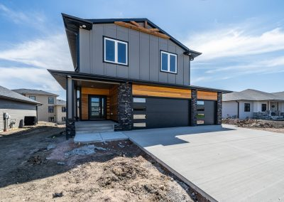Custom Home Exterior
