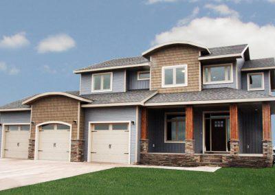 The Berkley Custom Home Exterior