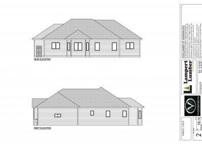 Avondale Custom Home Floor Plan
