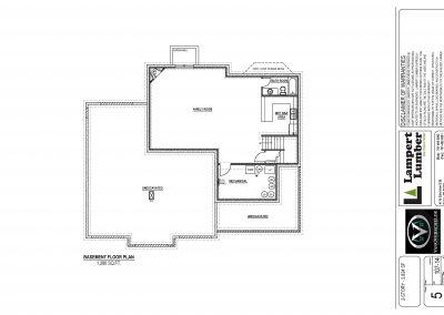 Berkley Custom Home Floor Plan