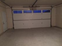 Custom Home Garage Interior
