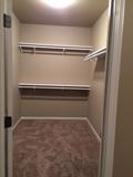 Custom Home Storage Closet
