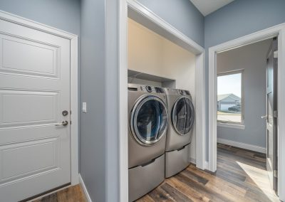 Custom Home Laundry