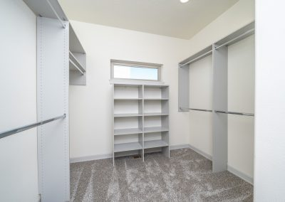 Custom Home Walk In Closet