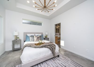 Custom Home Bedroom